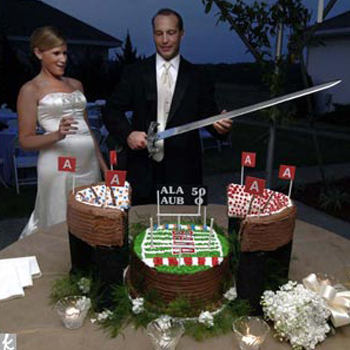 Sports Themed Weddings - Football Themed Wedding Cake Ideas bfcb01d50