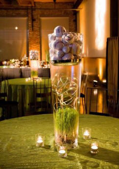 Baseball-Golf-Wedding-Theme-Centerpiece