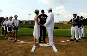 Wedding Photo Example - Baseball Vows