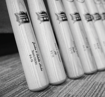 Genuine Louisville Slugger Bats for the Bridal Party