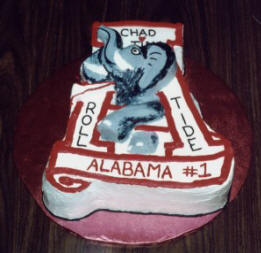 Alabama Wedding Cake