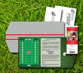 Sports Themed Weddings Invitations and Programs