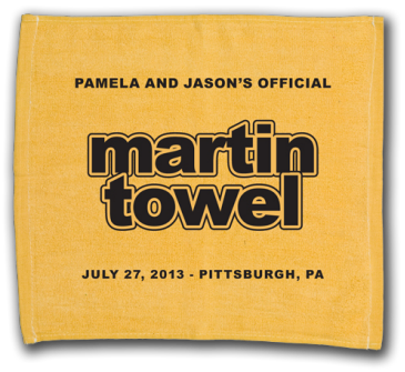 Pittsburgh Steeler Themed Terrible Towel