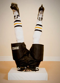 Hockey Player Centerpiece
