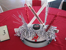 NHL Hockey Centerpieces