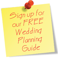 Sign up for our FREE Wedding Planning Guide