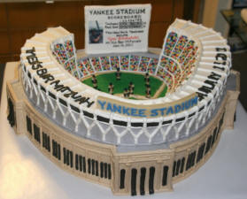 baseball wedding theme - New York Yankees Grooms Cake