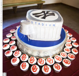 Yankee Stadium Wedding Cake